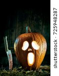 Halloween Theme Of Spooky Jack...