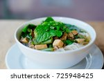 fresh vietnamese pho soup in... | Shutterstock . vector #725948425