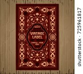 Vector Vintage Items  Label Ar...