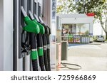 gasoline and diesel distributor ... | Shutterstock . vector #725966869