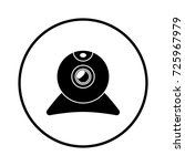 webcam icon | Shutterstock .eps vector #725967979