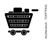 shopping cart full flat icon | Shutterstock .eps vector #725979541