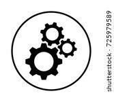 settings icon   Shutterstock .eps vector #725979589