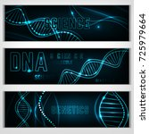 landscape digital banners with... | Shutterstock .eps vector #725979664