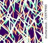 seamless pattern design. fabric ... | Shutterstock .eps vector #725979985
