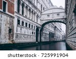 bridge of sighs  ponte dei... | Shutterstock . vector #725991904