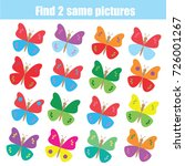 find the same pictures children ... | Shutterstock .eps vector #726001267