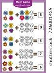 math educational game for... | Shutterstock .eps vector #726001429