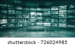 competitor industry analysis... | Shutterstock . vector #726024985