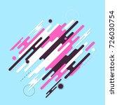 minimalistic design  creative... | Shutterstock .eps vector #726030754