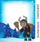 krampus theme image 5   eps10... | Shutterstock .eps vector #726031855