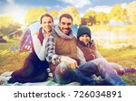 tourism  hike and travel... | Shutterstock . vector #726034891