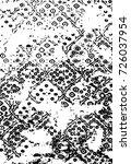 textile pattern carpets | Shutterstock .eps vector #726037954