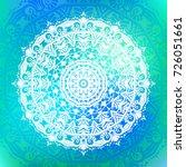 beautiful vector hand drawn... | Shutterstock .eps vector #726051661