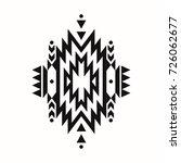 raster black and white... | Shutterstock . vector #726062677