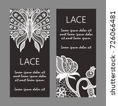 Vector Card Templates With Lac...