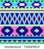 geometric ethnic oriental...   Shutterstock .eps vector #726069814