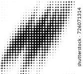 grunge black and white dots... | Shutterstock .eps vector #726071314
