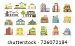 set of different styles... | Shutterstock .eps vector #726072184