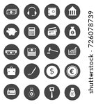 investment icons | Shutterstock .eps vector #726078739