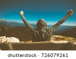 success  triumph and victory.... | Shutterstock . vector #726079261