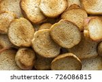 toasts  fried bread. food... | Shutterstock . vector #726086815