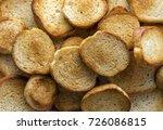 toasts  fried bread. food...   Shutterstock . vector #726086815