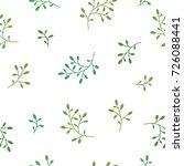 floral seamless pattern texture ... | Shutterstock .eps vector #726088441