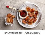 chinese general tso's chicken... | Shutterstock . vector #726105097