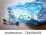 closeup. | Shutterstock . vector #726106105
