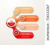 four elements banner. 4 steps... | Shutterstock .eps vector #726112267
