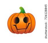 theme of halloween. isolated... | Shutterstock . vector #726128845