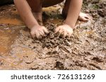 close up of kid playing in... | Shutterstock . vector #726131269
