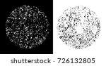 grunge texture background...   Shutterstock .eps vector #726132805