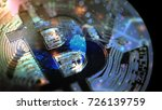 bitcoin worldwide digital...   Shutterstock . vector #726139759
