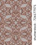 royal victorian pattern... | Shutterstock .eps vector #726177571