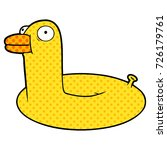 cartoon floatie | Shutterstock .eps vector #726179761