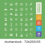 science icon set vector | Shutterstock .eps vector #726203155