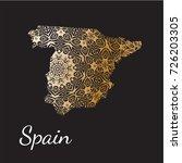 spain   vector illustration... | Shutterstock .eps vector #726203305