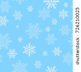 winter seamless pattern from... | Shutterstock .eps vector #726210025