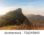 scenery view of mountain... | Shutterstock . vector #726245845