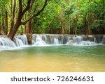 huay mae khamin waterfall in... | Shutterstock . vector #726246631