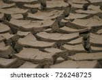 dry clay texture  which has... | Shutterstock . vector #726248725