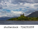 Small photo of Castle Moil near Kyleakin on the Isle of Skye, Hebrides, Scotland.