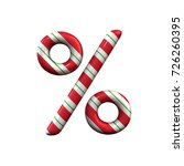 Red And White Stripe Candy Can...