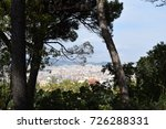 city view over barcelona  spain | Shutterstock . vector #726288331