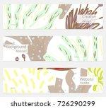 hand drawn creative universal... | Shutterstock .eps vector #726290299