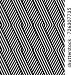 vector seamless pattern. modern ...   Shutterstock .eps vector #726307735