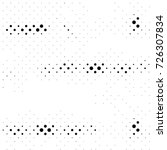 black and white round spots... | Shutterstock . vector #726307834