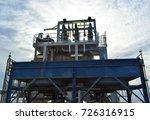 fin tube type of lube oil... | Shutterstock . vector #726316915